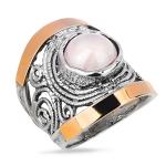 Серебряное кольцо Yaffo с кварцем SAR1251