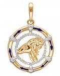 Подвеска Знаки Зодиака Козерог золото 01Д0110504ЭР