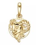 Подвеска Знаки Зодиака Козерог золото 01Д0110804
