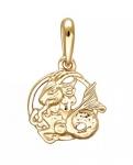 Подвеска Знаки Зодиака Козерог золото 01Д0110801