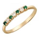 Золотое кольцо 01К211117-3
