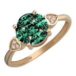 Золотое кольцо 01К2112051-2