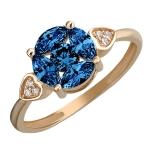 Золотое кольцо 01К2112051-1