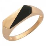 Перстень печатка из золота 01Т415226-1