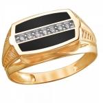 Перстень печатка из золота 01Т4111710-1
