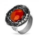 Серебряное кольцо Yaffo с карнелианом SAR1267
