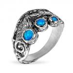 Серебряное кольцо Yaffo с опалом SAR1266