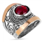 Серебряное кольцо Yaffo с фианитом SAR1251CZ