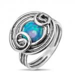 Серебряное кольцо Yaffo с опалом SAR836