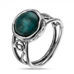 Серебряное кольцо Yaffo с бирюзой SAR881