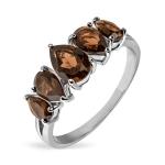 Серебряное кольцо Sandara с раух-топазом ANR3264SQ