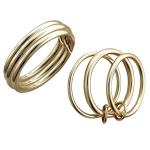 Кольцо из желтого золота 01К0312861