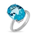 Серебряное кольцо Sandara с топазами ANR0284BT