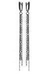 Серебряные серьги метелки M0000177334