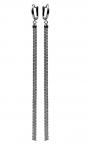 Серебряные серьги метелки HH000032514