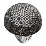 Серебряное кольцо с фианитами M0000231653