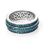 Кольцо из серебра с фианитами M0000202023