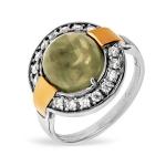 Серебряное кольцо Yaffo с лабрадоритом SAR1330