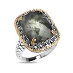 Серебряное кольцо Тайна Шарлотты ALEXANDRE VASSILIEV TJR049