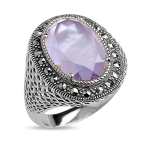 Серебряное кольцо Магический кристалл ALEXANDRE VASSILIEV TJR140