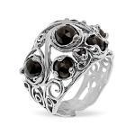 Серебряное кольцо Yaffo с фианитом SAR1422