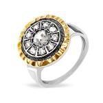 Серебряное кольцо Yaffo с фианитами SAR1417