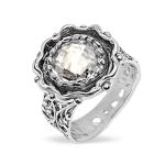 Серебряное кольцо Yaffo с фианитом SAR1414