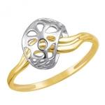 Кольцо из желтого золота 01К0611823Ж