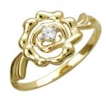 Кольцо из желтого золота 01К1312218