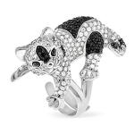 Серебряное кольцо Sandara Кошка YJR021