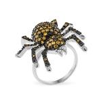 Серебряное кольцо Sandara Паук с фианитами YJR019