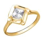 Кольцо из желтого золота 01К1312766