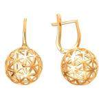 Серьги золотые Bubblse Gold 01С0112777