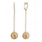 Серьги золотые Bubblse Gold 01С0112994
