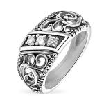 Серебряное кольцо Yaffo с фианитами SAR1484