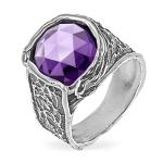 Серебряное кольцо Yaffo с фианитом SAR1478