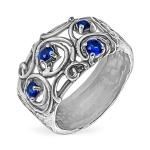 Серебряное кольцо Yaffo с фианитом SAR1475