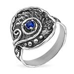 Серебряное кольцо Yaffo с фианитом SAR1466