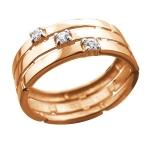 Золотое кольцо Ариадна 01К1112942