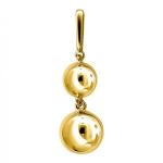 Золотая подвеска Bubblse Gold 01П0310469