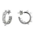 Серебряные серьги с фианитами С32С150106