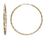 Серьги Конго из золота 01С015732