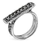 Серебряное кольцо Yaffo с фианитом SAR1352BCZ