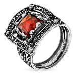 Серебряное кольцо Yaffo с фианитами SAR1258CZ