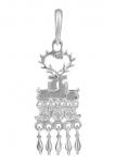 Серебряная подвеска Узор Утум PH006