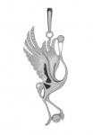 Серебряная подвеска Узор Утум PH046