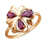 Кольцо золотое с корундом 01К2112832Р-1