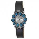 Часы из серебра Deno с бирюзой 01W691BRTQ