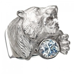 Мужские кольца и перстни-печатки Серебро 925 пробы ТИГР К-25008