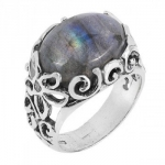 Кольцо из серебра Deno с лабрадором 01R1164LB